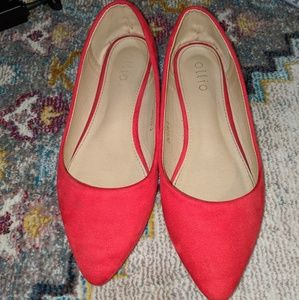 Wide Ollio Flats Size 9